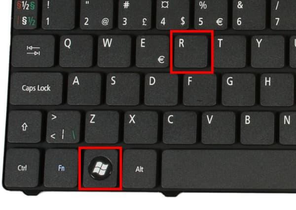 Comment installer une map minecraft : touche windows et R