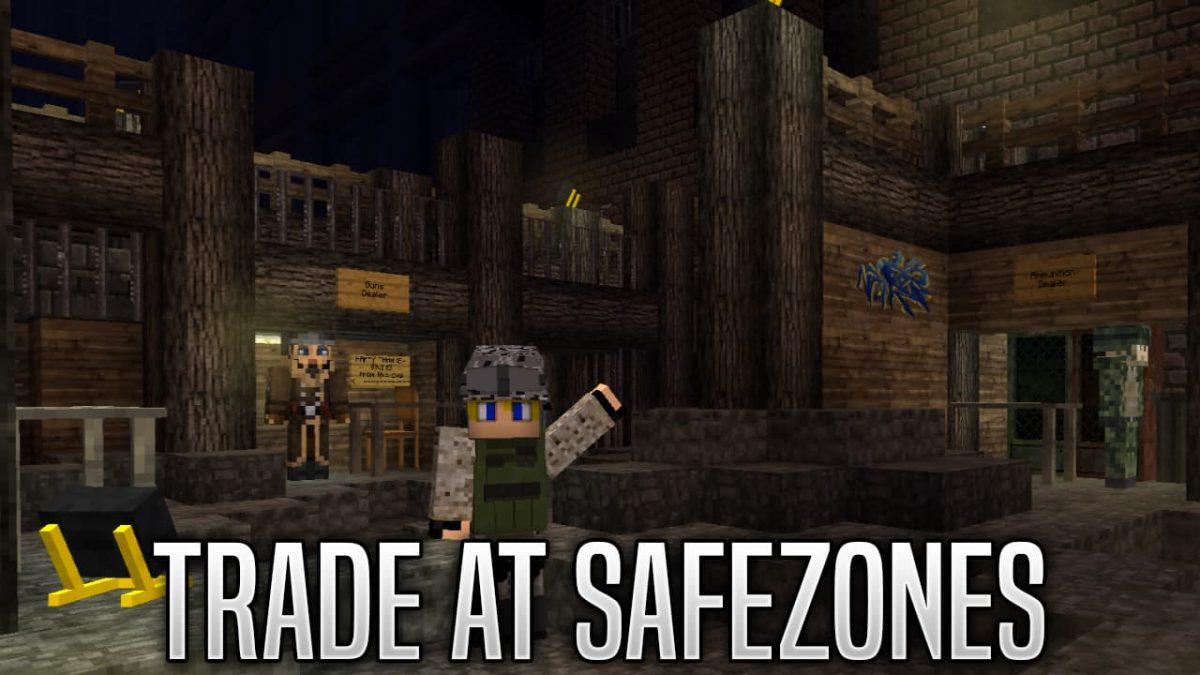 decimation mod minecraft : échange zone sécurisé