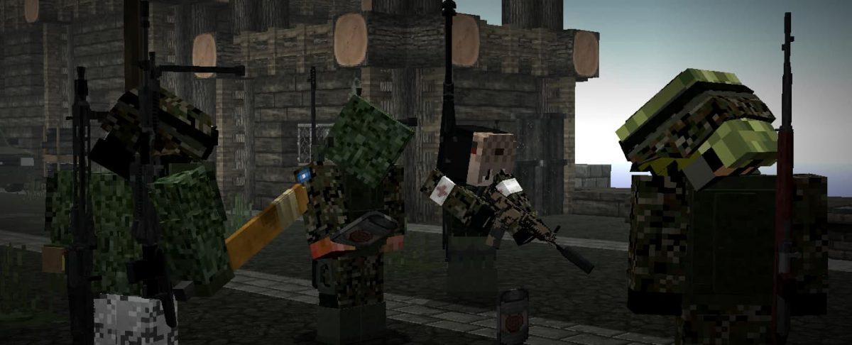 decimation mod minecraft : des joueurs sur un serveur