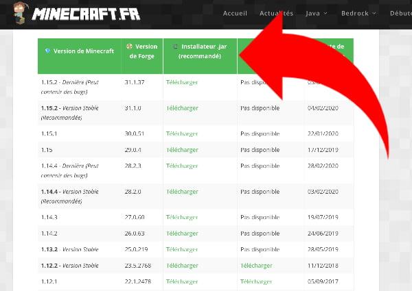 Installer Forge sur Minecraft : téléchargez le fichier