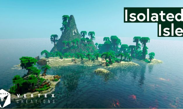 Isolated Isle – Map Survie – 1.15.2