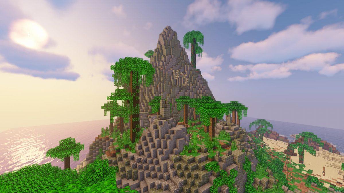 Il vous faudra grimper sur cette montagne !