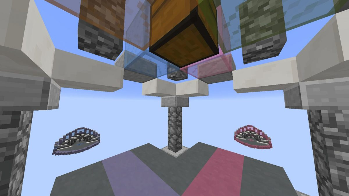 Map Minecraft Rush Reloaded : coffre
