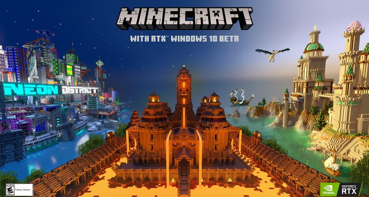 Bêta de Minecraft avec RTX : Des visuels époustouflants en Ray Tracing