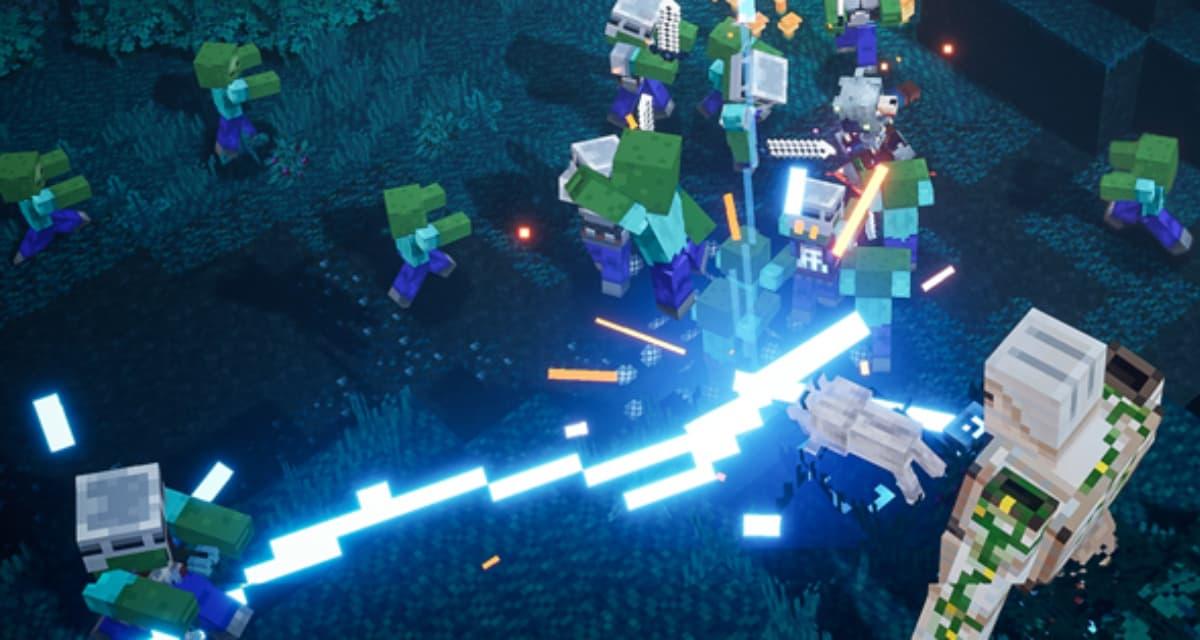 Minecraft Dungeons disponible le 26 Mai et dès maintenant en precommande
