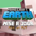 Minecraft Earth : Mises à jour R16 et R17