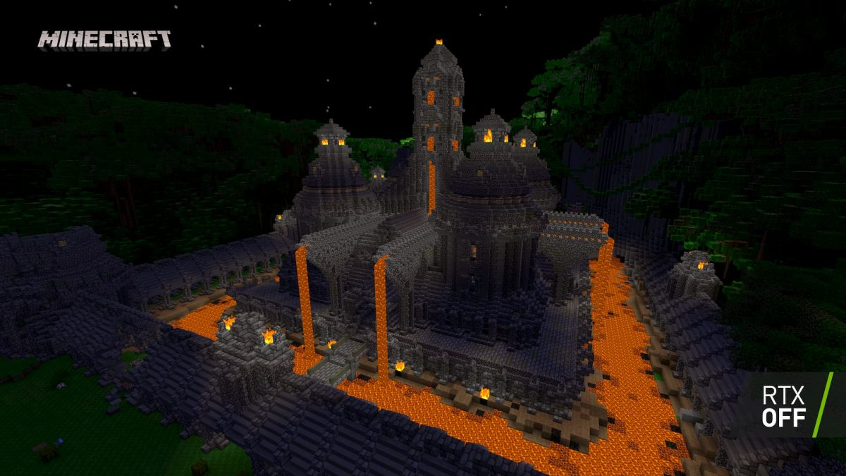 Minecraft Beta RTX : Chateau OFF