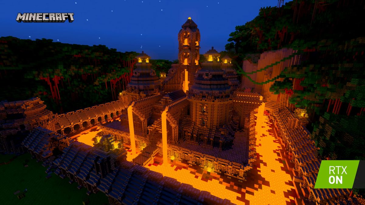 Minecraft Beta RTX : Chateau ON