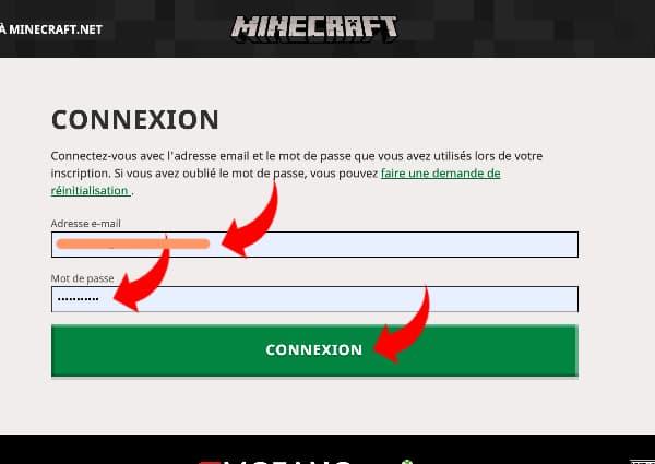 Acheter minecraft prix : connectez vous