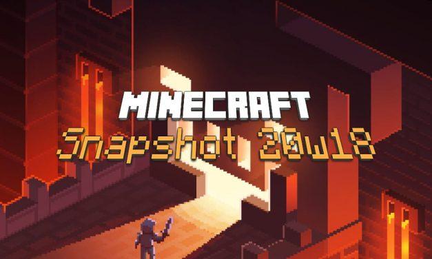 Snapshot 20w18a : Minecraft 1.16