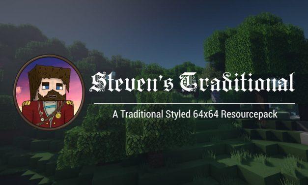 Steven's Traditional – Le Pack de Textures de Laink & Terracid de Wankil Studio – 1.12 → 1.15