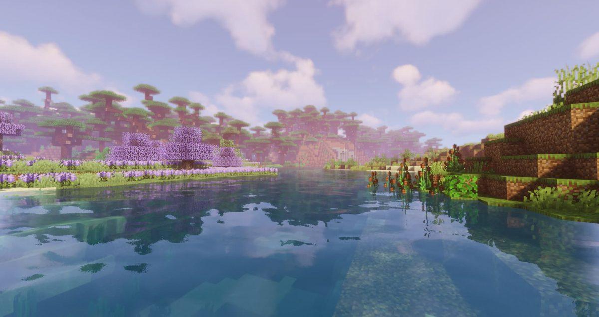 Valhelsia 2 : une rivière avec des blocs uniques sur les berges