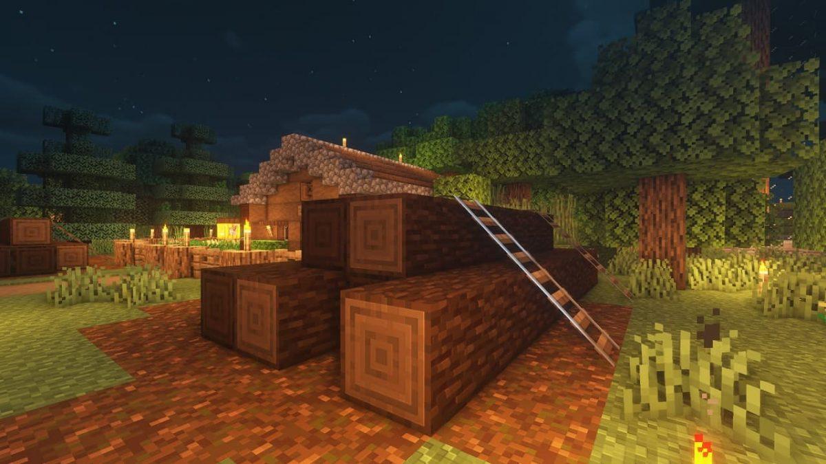 Vanilla PBR - Pack de Textures Minecraft : du bois