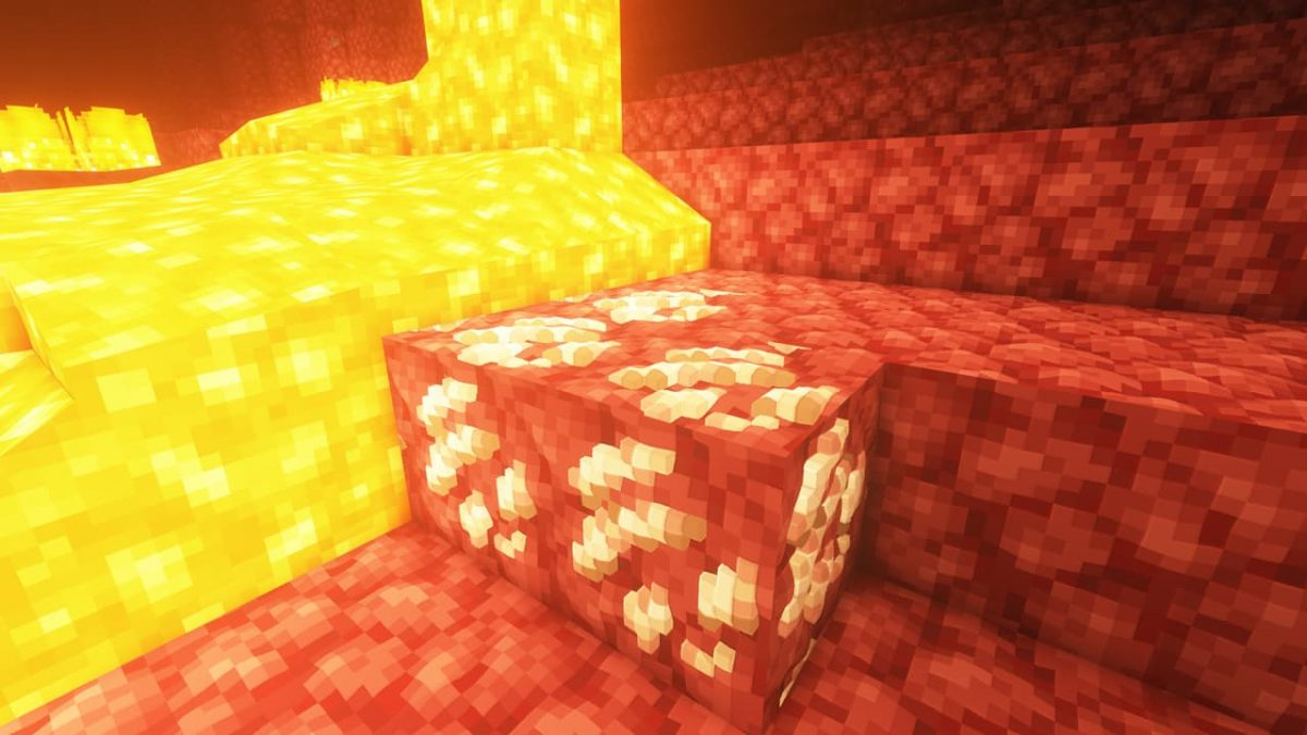Vanilla PBR - Pack de Textures Minecraft : du quartz du nether