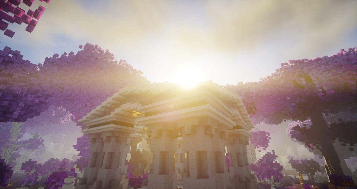 Map Fallen Kingdoms 9 : le reflet du soleil sur le temple