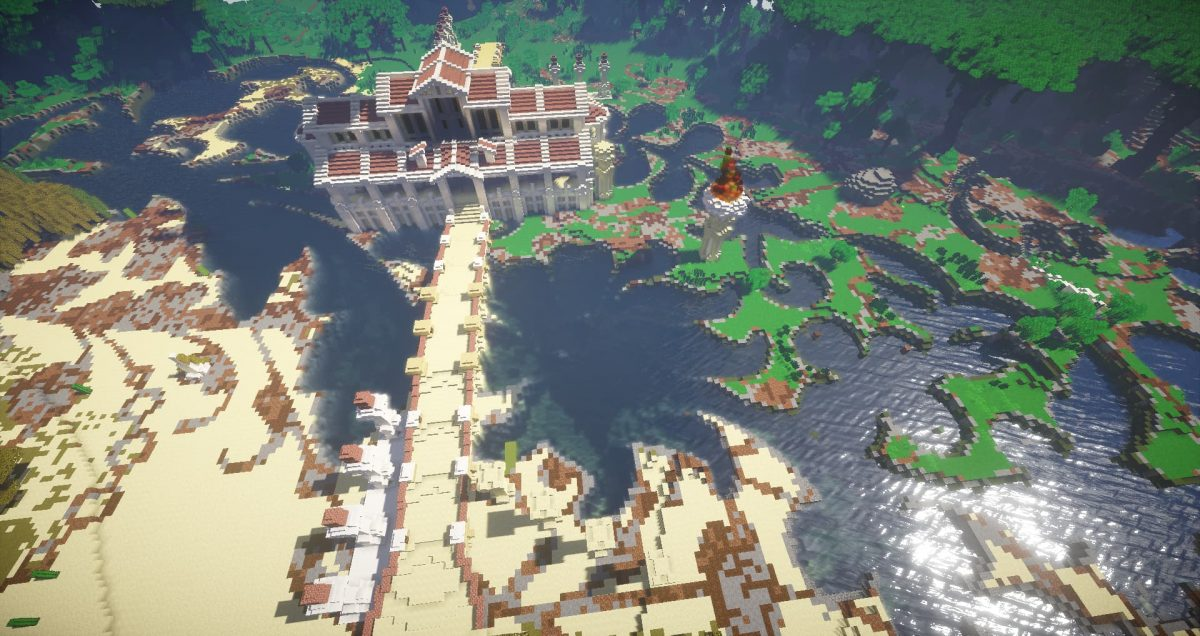 Map fallen kingdoms saison 7 : le pont qui mène au temple grec