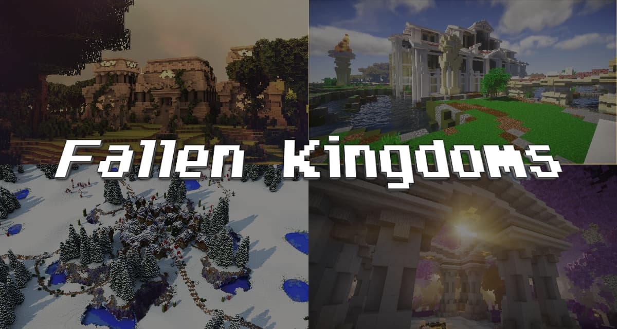 Fallen Kingdoms – Maps minecraft – 1.8 → 1.12