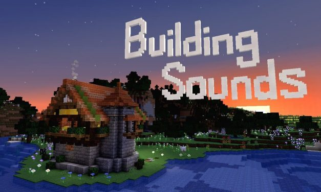 Minecraft Building Sounds : Une mélodie avec des bruitages de construction