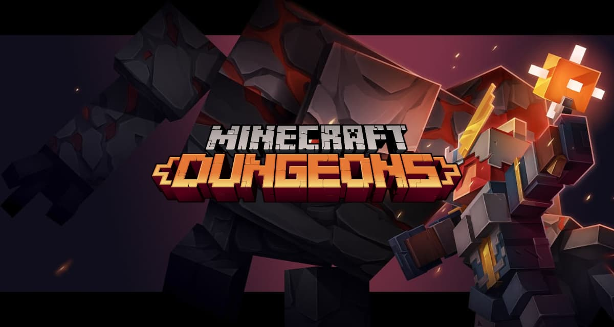 Minecraft Dungeons est disponible !