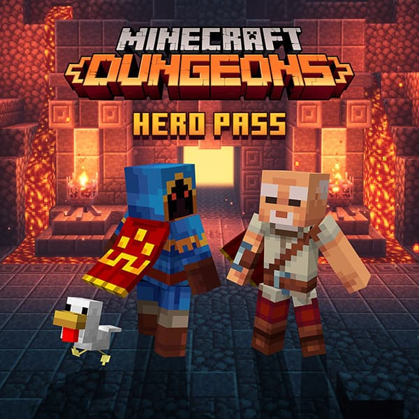 minecraft dungeons pass hero
