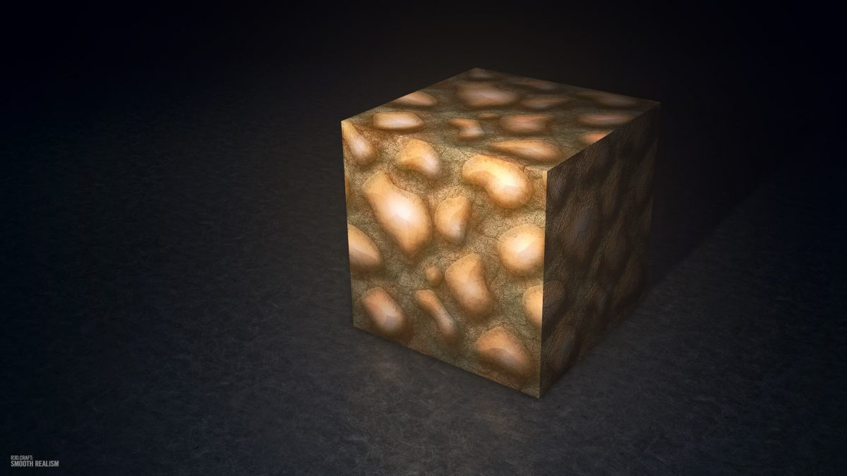 Pack de texture R3D CRAFT : glowstone