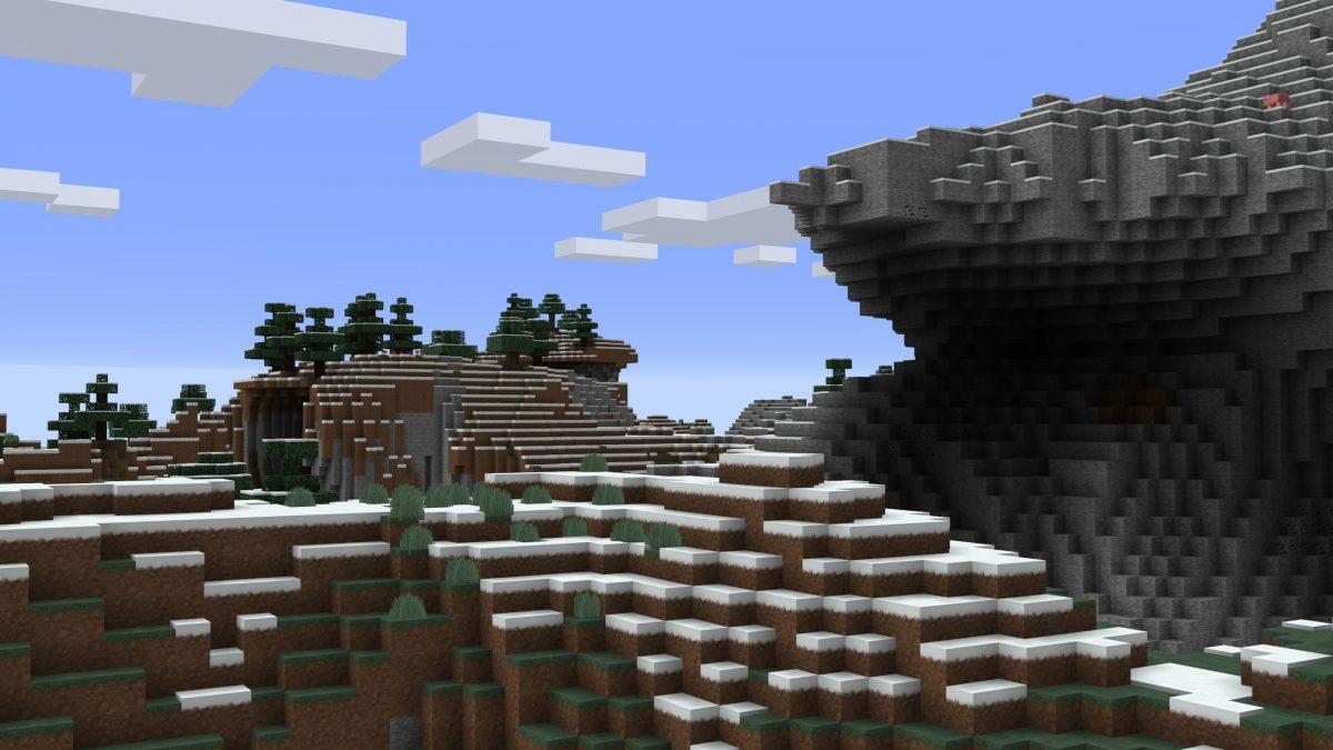 Pack de texture R3D CRAFT : une montagne enneigée