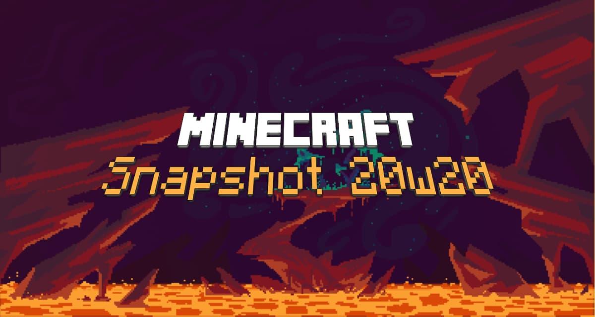 Snapshot 20w20b : Minecraft 1.16