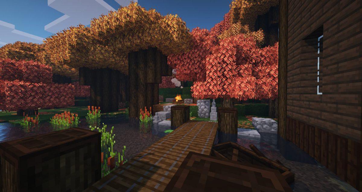 Better Vanilla Building : Une forêt