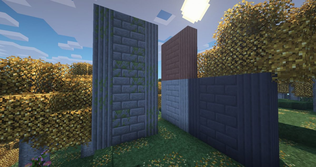 Better Vanilla Building : des piliers