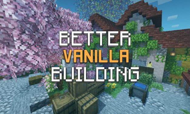 BetterVanillaBuilding – Pack de Textures – 1.8 → 1.17
