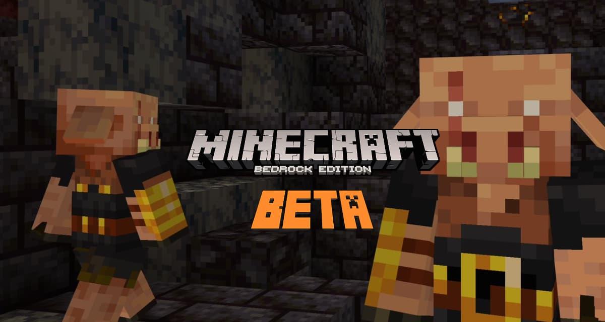 Minecraft Bedrock Edition Beta : Brute Piglin