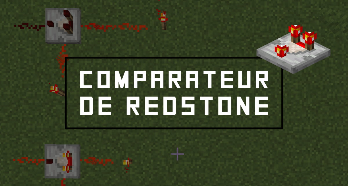 comparateur minecraft