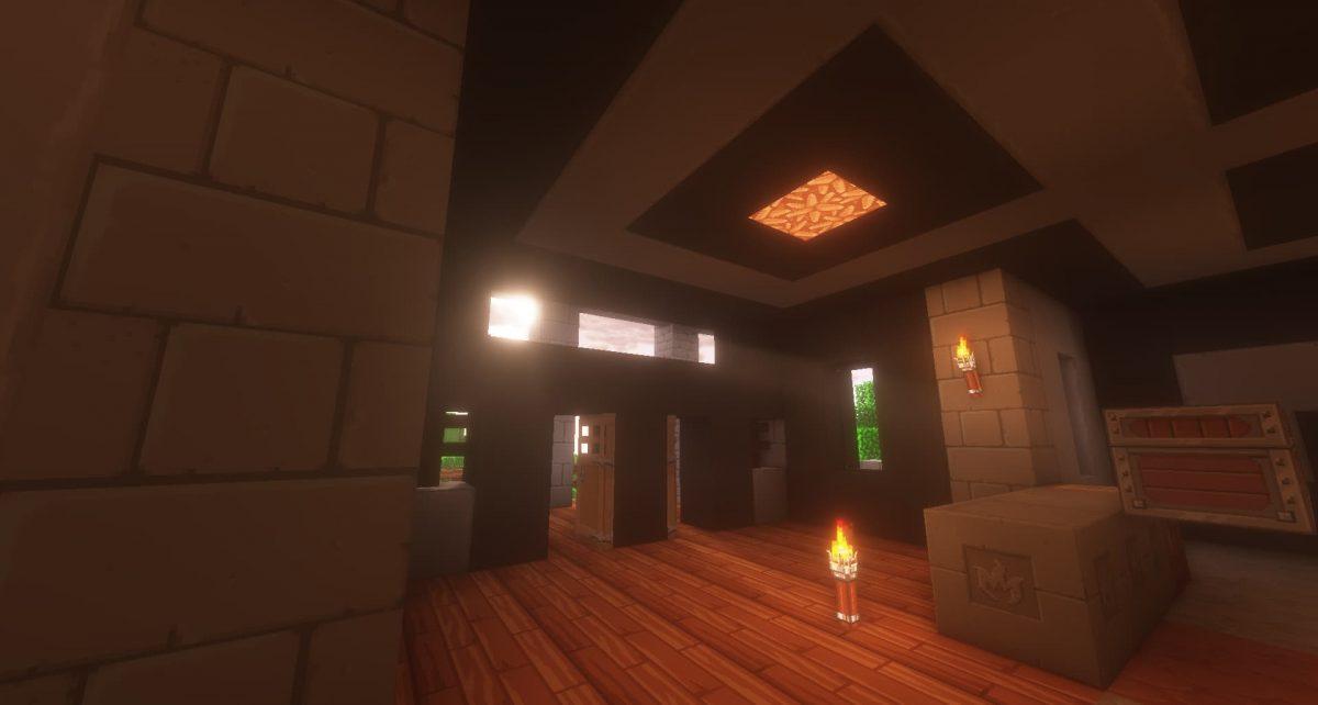 Dragon Dance Pack : à l'intérieur d'une maison