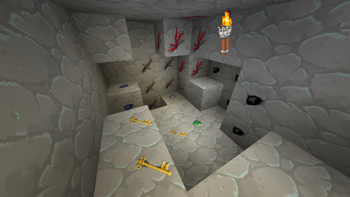 Dragon Dance Pack : dans une caverne avec de la lumière