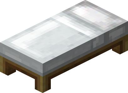 faire un lit minecraft