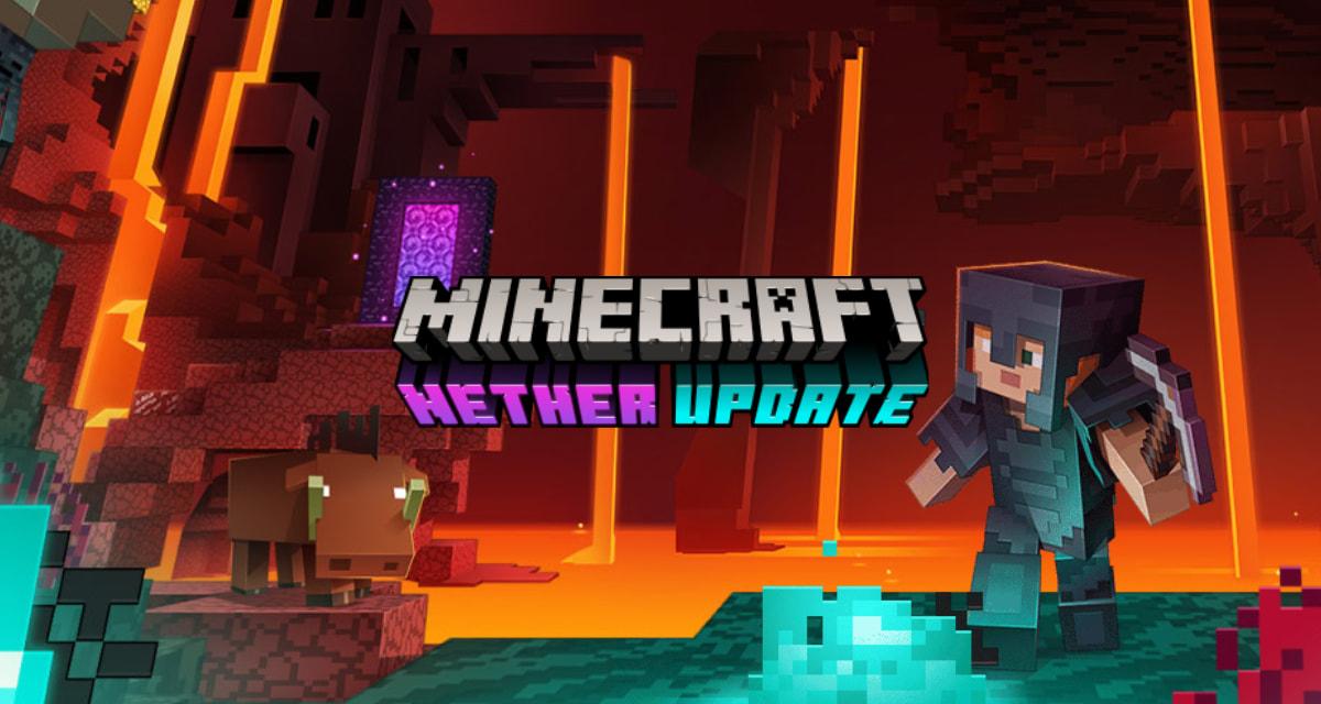 Minecraft 1.16.1 : Mise à jour du Nether – Toutes les nouveautés