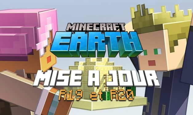 Minecraft Earth : Mise à jour R19 & R20