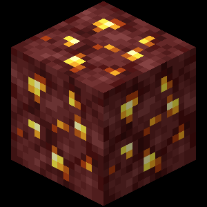 Minerai d'or du Nether