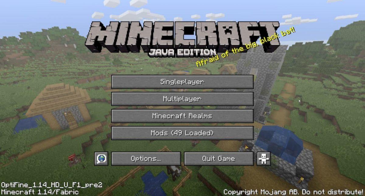 optifabric minecraft