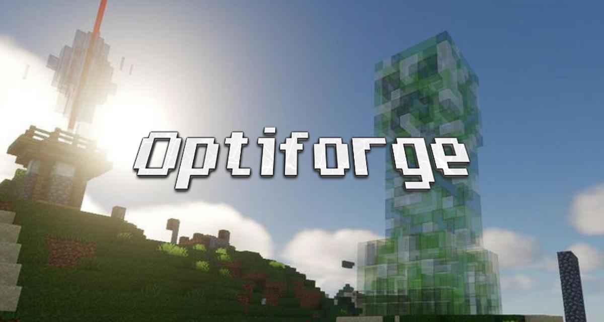 OptiForge – Mod – 1.14.4 → 1.16.5