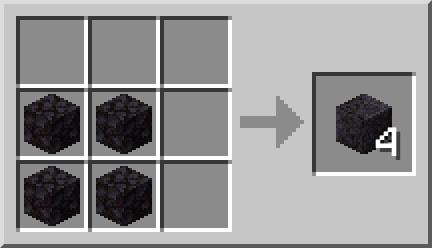 pierre noire polie minecraft 1.16