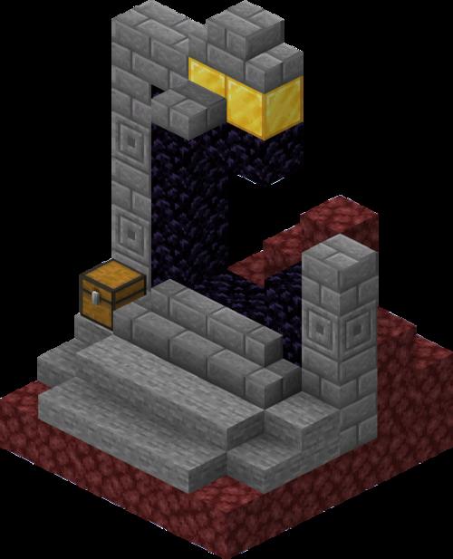 portail en ruine normal