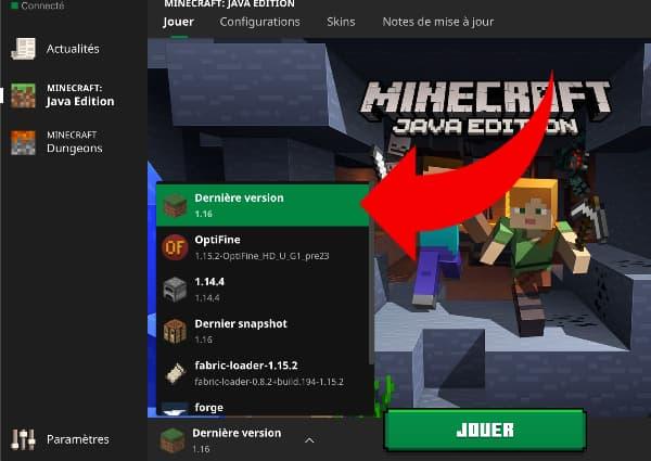 télécharger minecraft 1.16