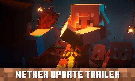 Trailer de lancement de la mise à jour du Nether de Minecraft