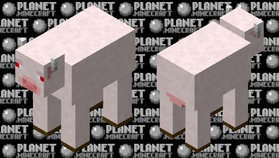 vache albinos minecraft earth