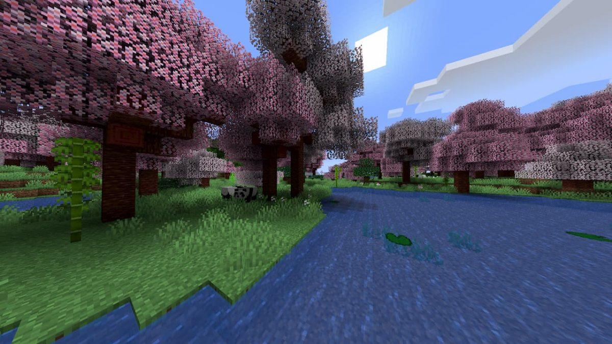 Biome O Plenty : Forêt d'arbres roses
