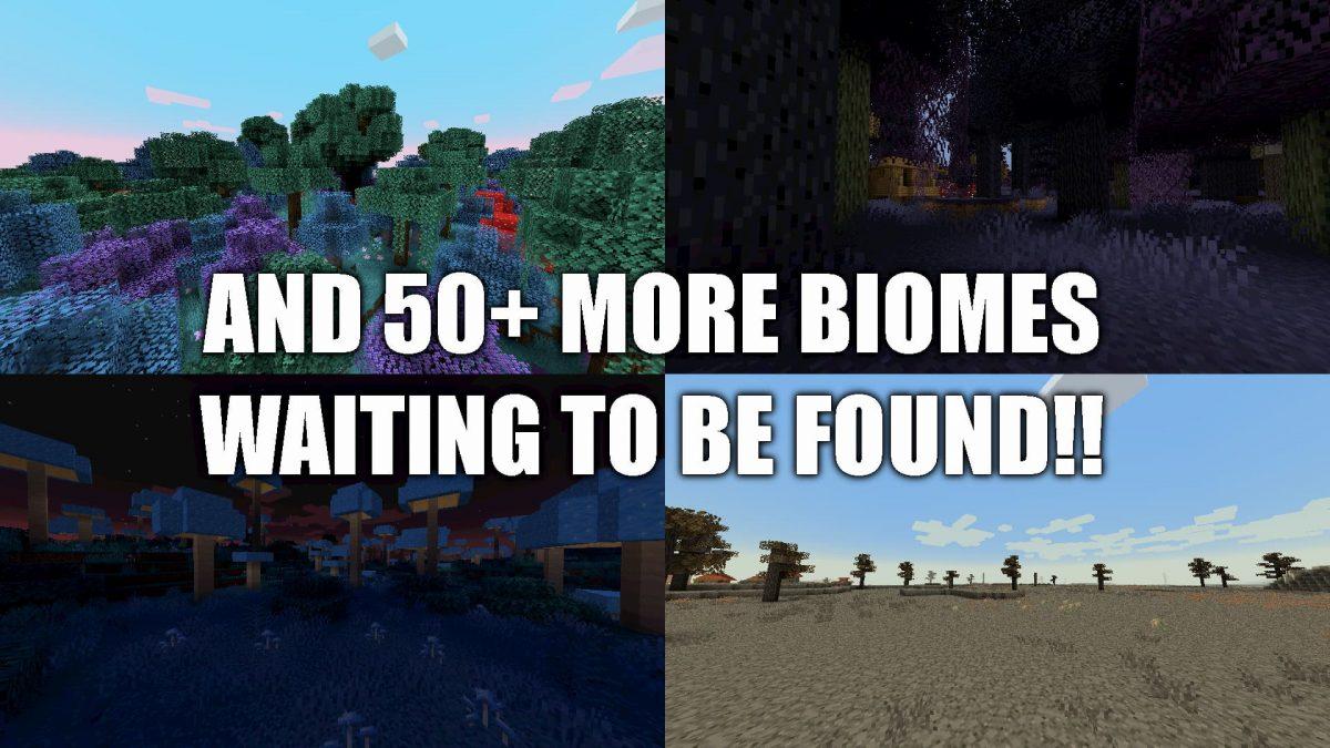 Biome O Plenty : Plus de 50 autres biomes à découvrir !