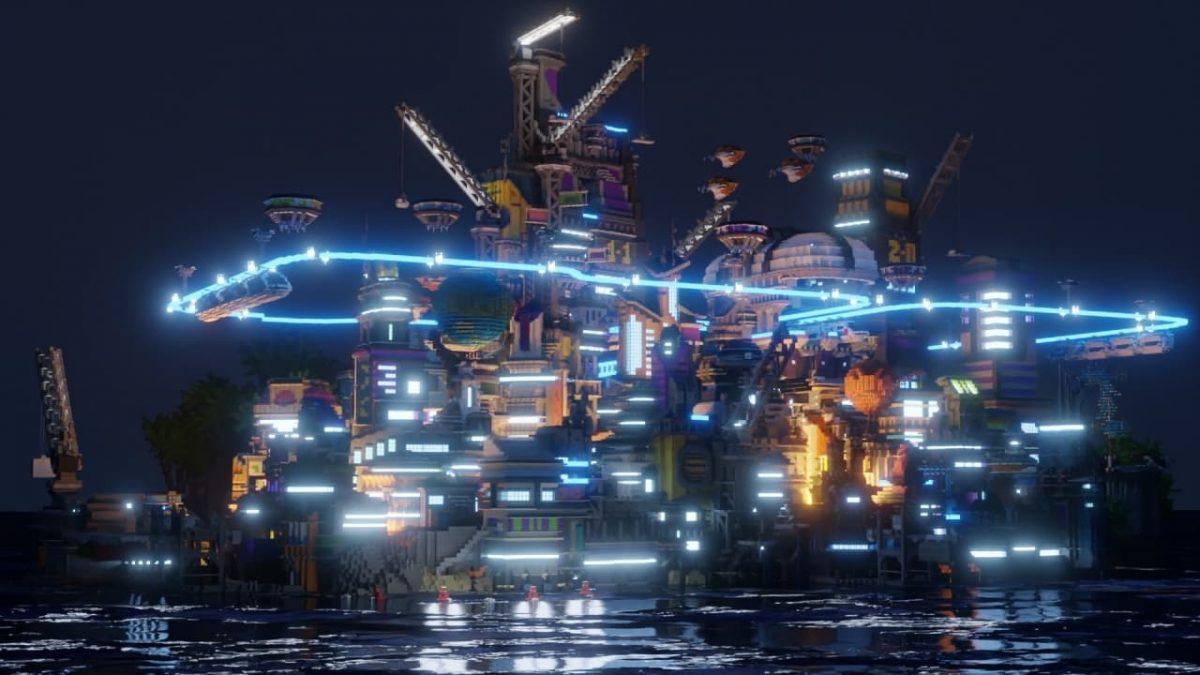 Render de Hive City par Cairstairs