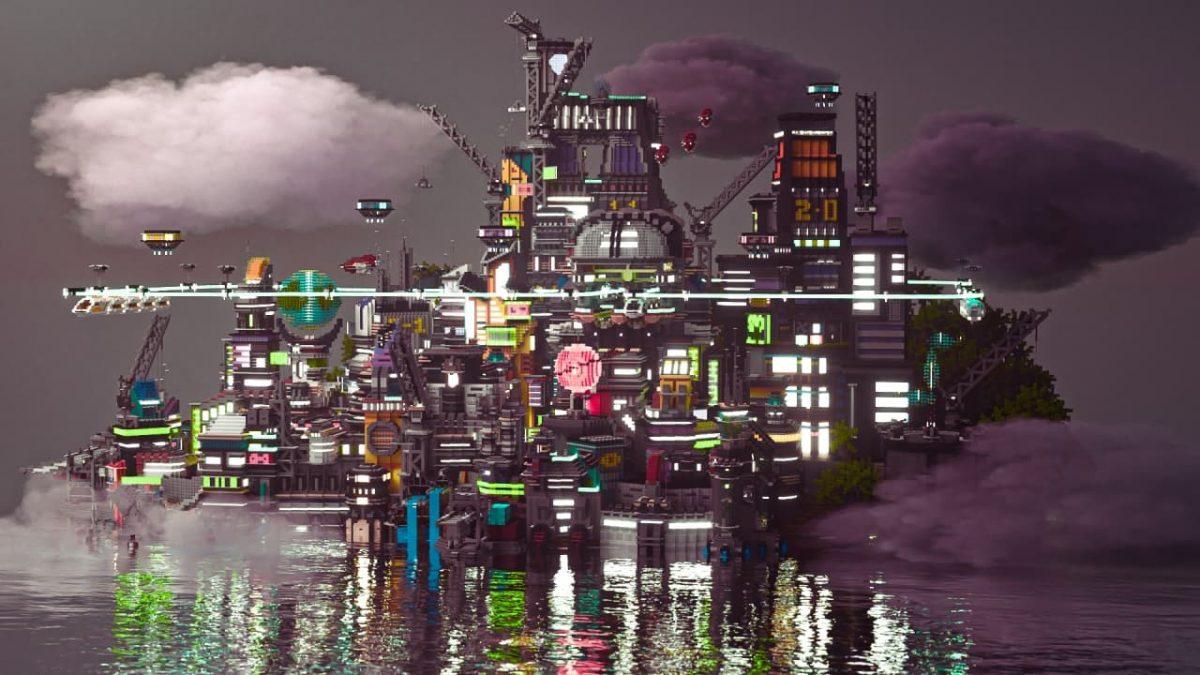 Render de Hive City par CommonUwU