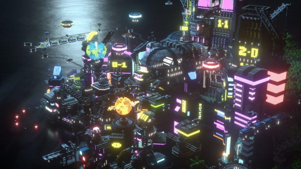 Render de Hive City par Mega